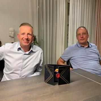 Leonvan Duijn en Leo Steyger